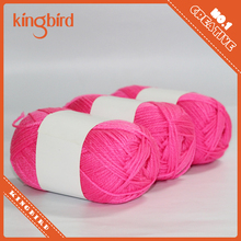 3 balls of Soft acrylic Colorful Knitting Yarn