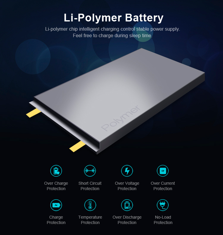 fast charge PD function external quick charge 4.0 power bank 10000 mAh