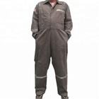 NFPA2112 Oilfield Work Wear Double Zipper Boiler Suit Workshop Flame Resistant Coveralls
