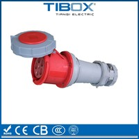 Shape/size optional waterproof bulkhead electrical connector