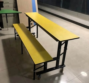 used wholesale dinning tables and chairs use for staff restaurant