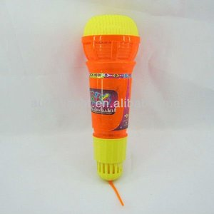 multi color flash microphone toy