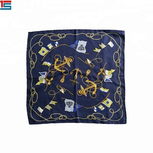 Wholesale Cheap Custom Printed Polyester Square Bandana