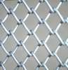 green/brown vinyl diamond used chain link fence for sale !