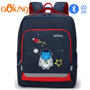 AOKING New Arrival Bluetooth children laptop backpack bag multifunctional school bags with GPS function