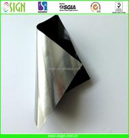 0.3mm Self adhesive Galvo laser engraving plastic sheets