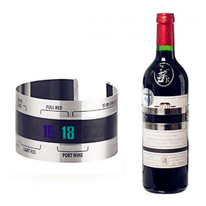 Factory Wholesale Stainless Steel Wine Bottle Thermometer Strip
