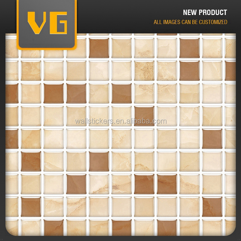 Direct factory price new arrival self adhesive design mosaic tile application