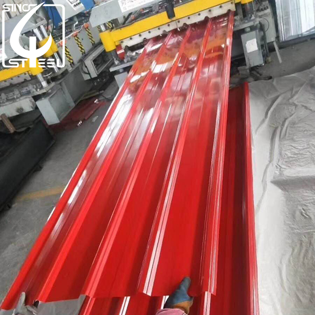 colour galvanized roofing sheet, colour galvanized roofing