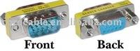 HD15 (VGA) Male / HD15 (VGA) Female, VGA Mini Gender Changer (For PC)