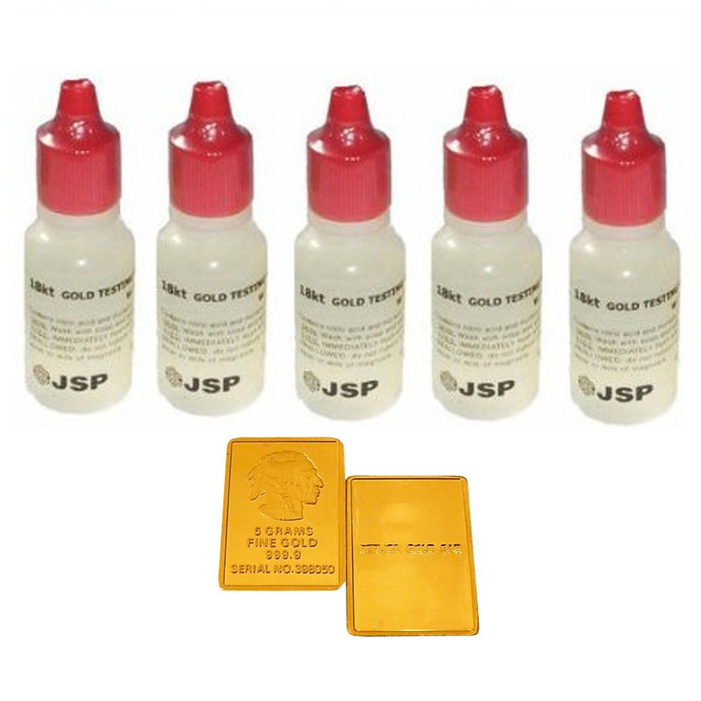 Testing & Identification Tools 6 Gold Testing Acid Jewelry Test Kit And Scratch Stone Detect Check Metals Lot Latest Technology