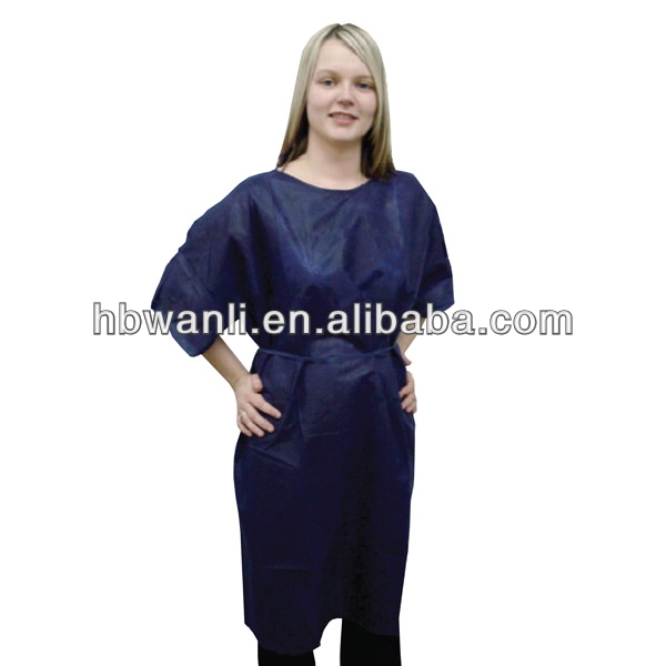 CE,FDA,ISO,TUV disposable medical patient gown