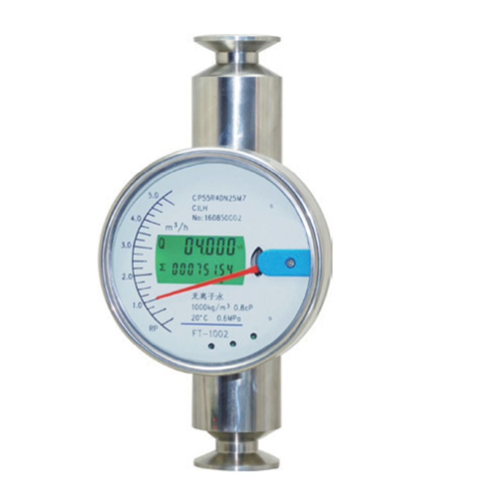 all stainless steel 4-20ma output water flow meter