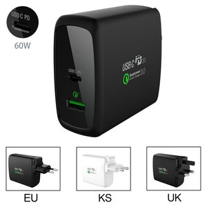 guangzhou electronic products PD QC3.0 tablet travel charger