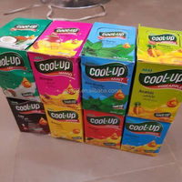 assorted fruit cola flavor fresh cool up mint candy