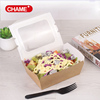 to go/ take out kraft paper food container/paper food box