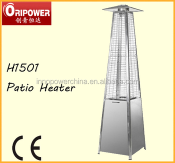 11 2kw Real Flame Patio Heater Pyramid Outdoor H1501a