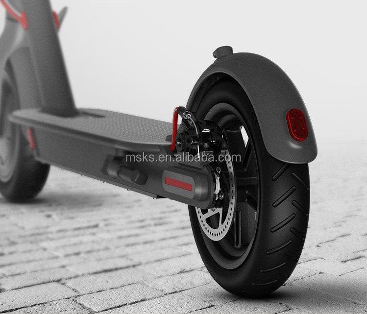 Foldable 2 wheel electric scooter 365 two wheel mijia kick e scooter