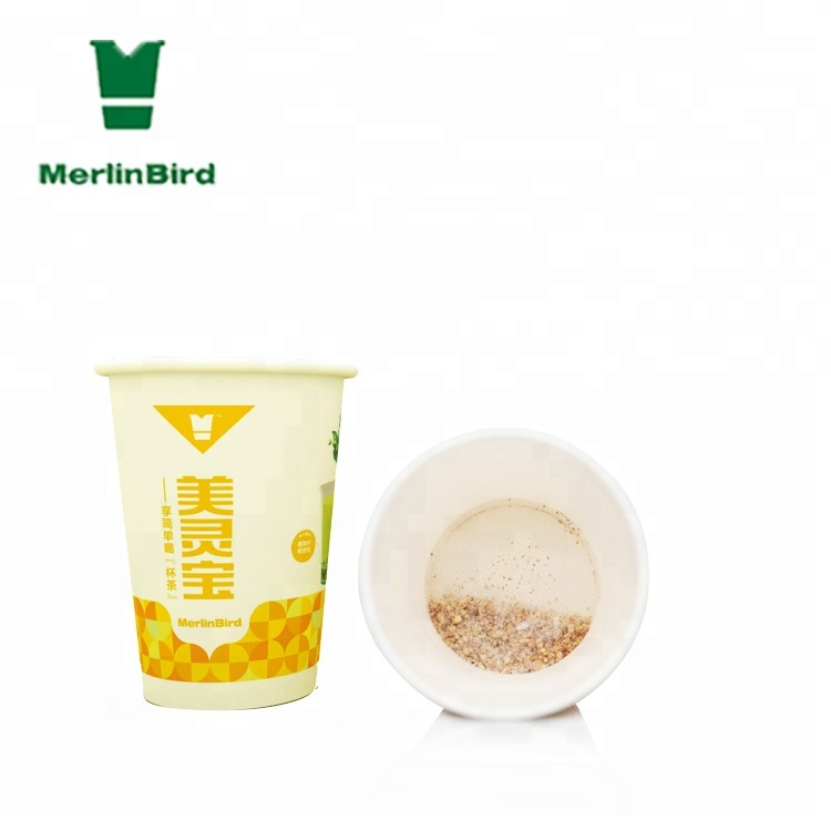 Patented Design Instant cup tea New drinking way Tea leaves separated from water easy take away - 4uTea   4uTea.com