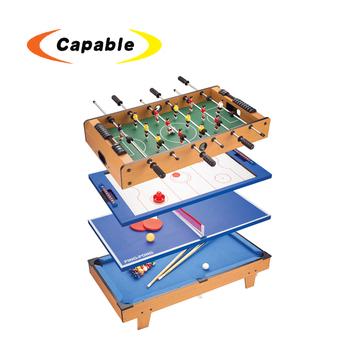 5828e9988 Compras online de futebol bilhar ping pong 4 em 1 jogo multi table com melhor  preço