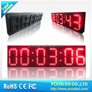 led countdown board 1 minute countdown timer 30 seconds