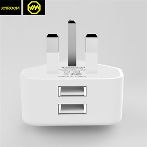 Joyroom usb wall charger uk mobile wall charger 2.1a