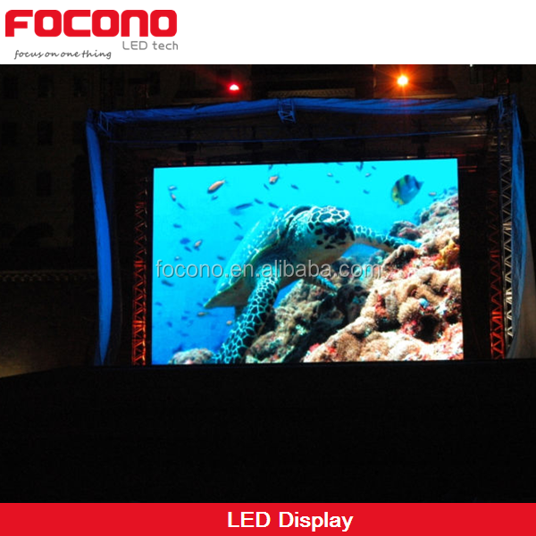 HD Outdoor Advertising Made in China P6 LED Display Screen