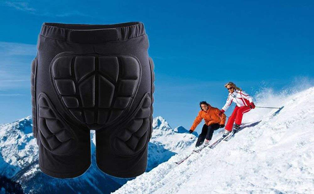 Hip Padded Shorts Skiing, Snowboarding, Skating, Cycling Protective Gear Impact Short for Adults and Kids