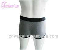 Women in split crotch panty girdle
