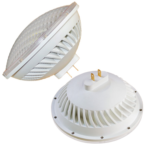 Dimmable replacement 300w halogen par 56 led gx16d 120v 220v 30w stage church lighting lamp