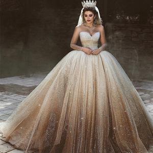 18430bba6f52 guangzhou hand made beaded luxury bling bling ball gown wedding dress  crystal vestidos de novia for