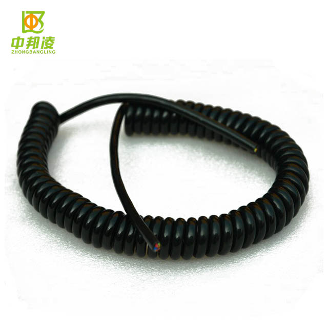 3 Pin PU PVC Spring Flexible DC Power Cable (1.5m)
