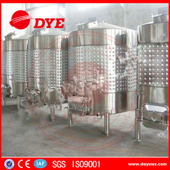 wine stainless steel fermenter for sale