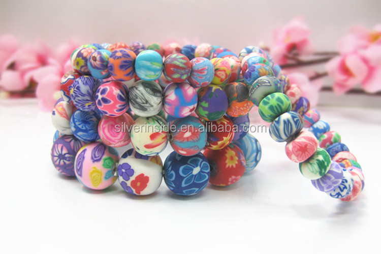New Fashion Hot Sale Trendy Clay Bracelet Bangle Jewelry Women/Kids/Men Charm Bracelet