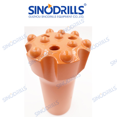 R28 thread button drill bits for top hammer drilling tools