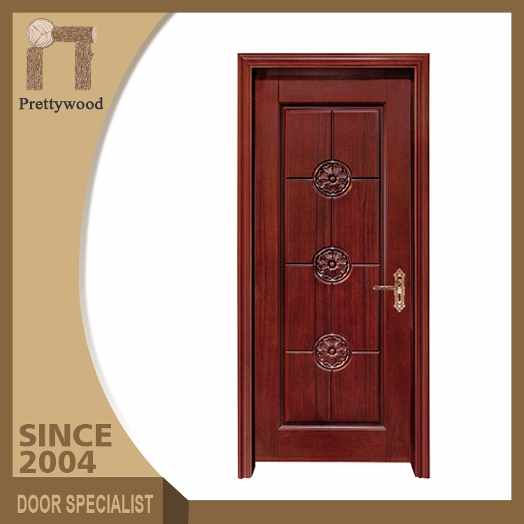 Low Price Good Fire-Resistant Rating Luxury Interior Wood Door