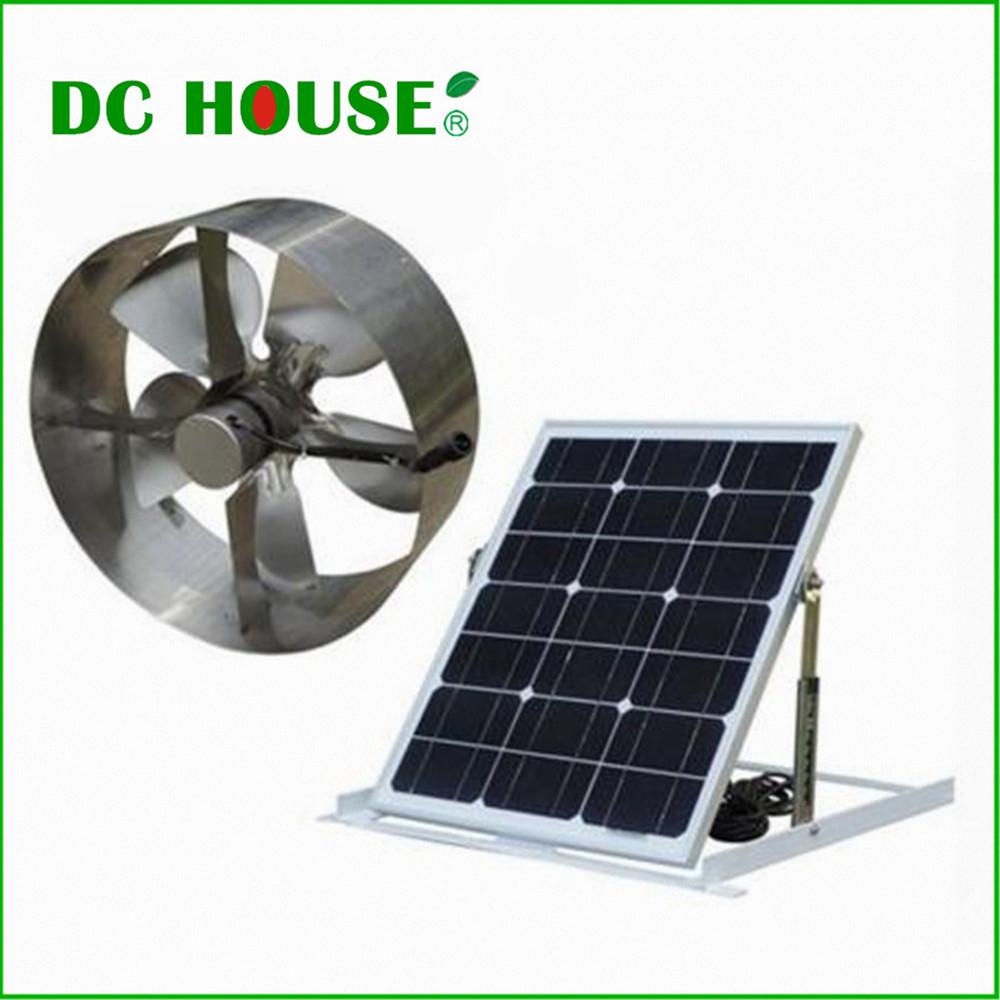 Online Buy Wholesale Solar Attic Fan From China Solar