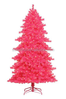 2017 New Design 6 Feet 180cm Artificial Pink Christmas Tree
