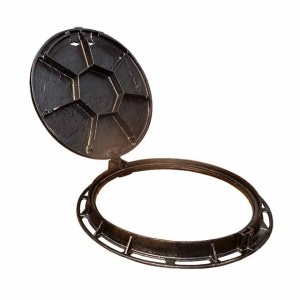 German ductile iron En124 D400 sewage manhole cover and frame hot sell