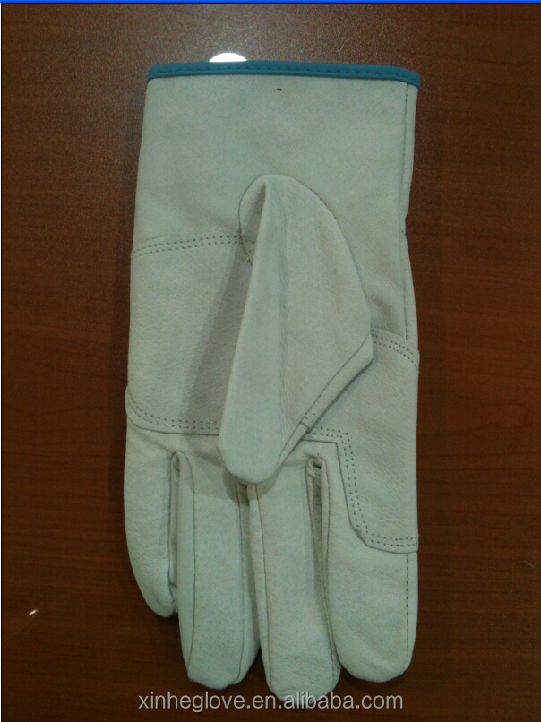 HEBEI factory supply leather safety <strong>glove</strong>