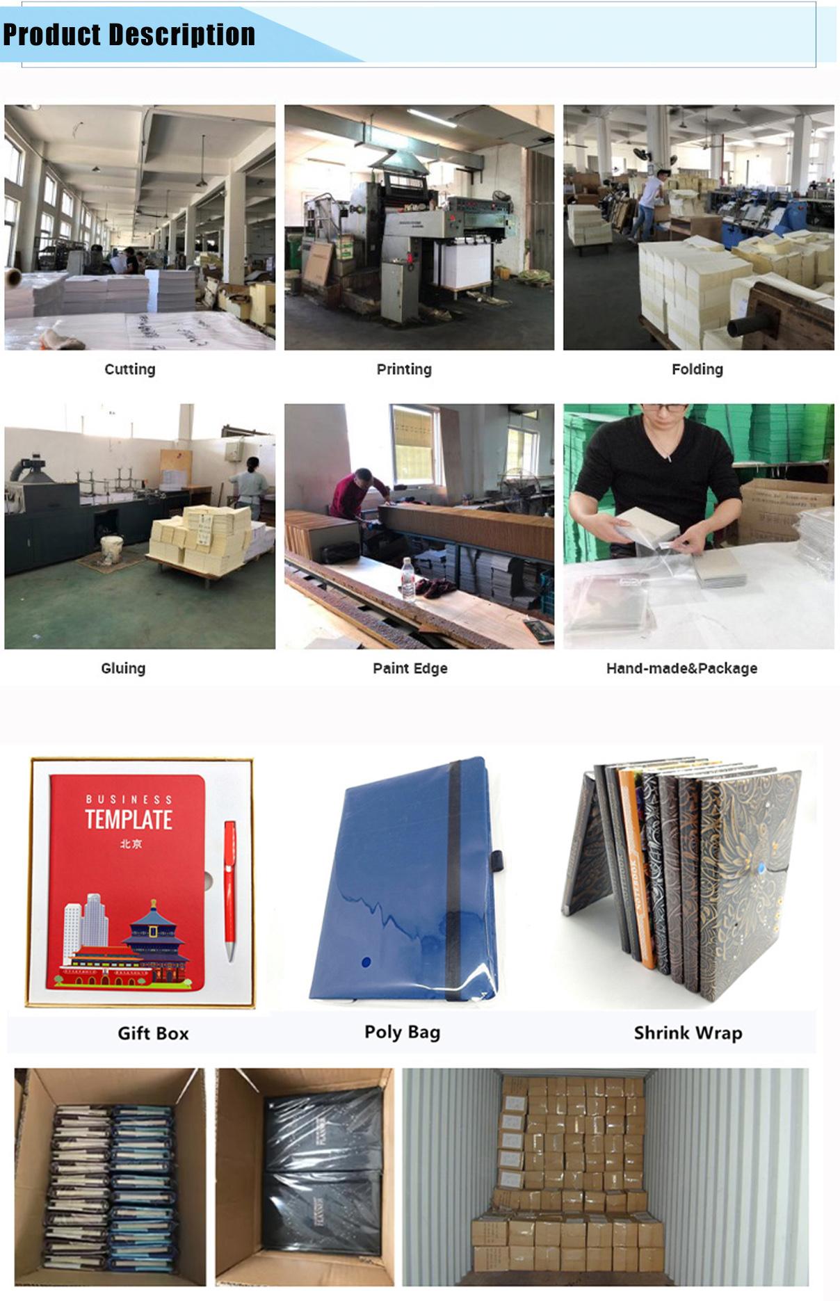 Berkualitas Klasik Notebook Saku, Memerintah, Hitam, Hardcover Notebook