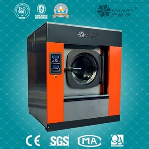 YSX series 50kg industrial washer gas heating washing machine factory