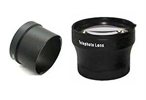 iConcepts 0.45x High Definition Wide Angle Conversion Lens for Canon Powershot G10 Includes Lens Adapter