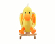 cute promotional customized stuffed plush rocking duck animal for baby/kids/children,plush animal rocker