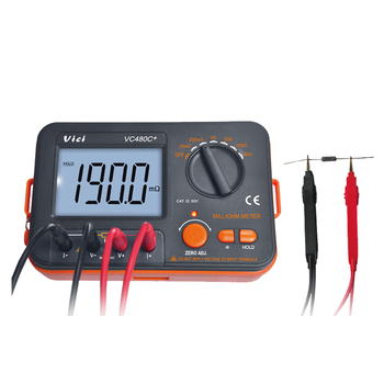 High efficiency digital micro ohm meter insulation resistance tester