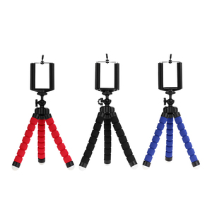 Kaliou tripod for phone camera holder Clip smartphone monopod tripe stand octopus mini tripod stativ for phone