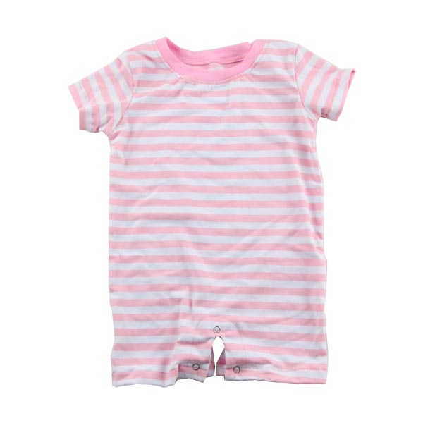 Kids clothing wholesale boutique cotton polo t shirt baby clothes romper pink blank baby onesie