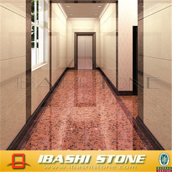 China Own Quarry Flamed Red Granite Tile Flooringfl On