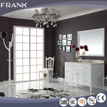Frank china supplier luxurious America Valspar painting l shaped bathroom vanity