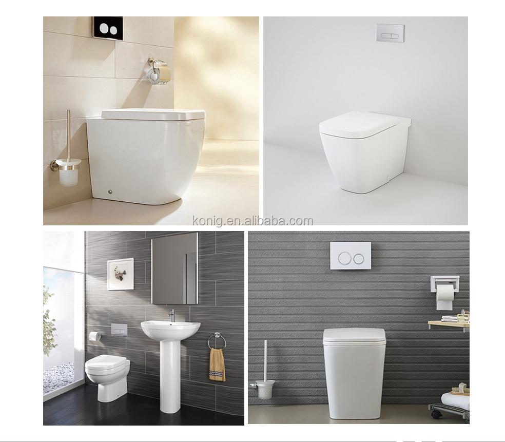 Dual Flush Concealed Cistern For Sitting Toilet, Plastic Hidden Toilet  Flush Tank